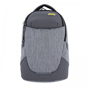 18SA-7475D Dunkelgrauer Computerrucksack Daypack Fashion Book Pack für College Business Laptop Rucksack